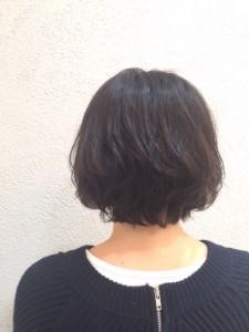 パーマ×ショートヘア