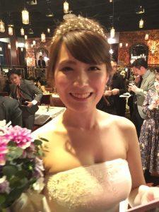山崎さんの結婚式☆