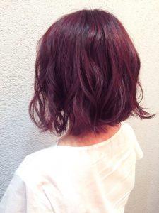 暗めの赤 秋カラー