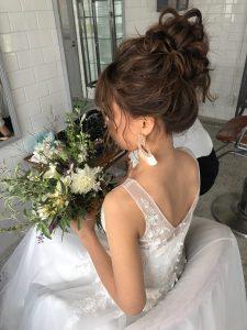 去年の結婚式を振り返る・・・