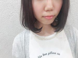 2018暗髪ピンクチョコブラウン☆