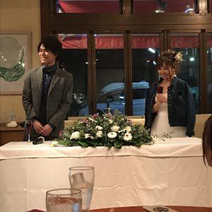 結婚式二次会*