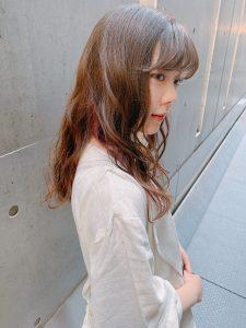 **◇ピンクインナーカラー◇**