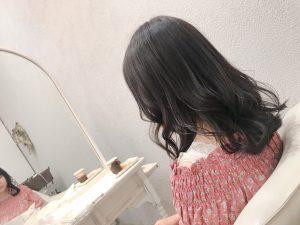 暗髪透け感☆+゜