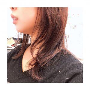 inoue**暖色系colorとバイオレットの相性☆彡