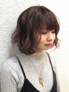 冬×ショートヘア