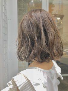 明るめヘアカラーが人気です^^