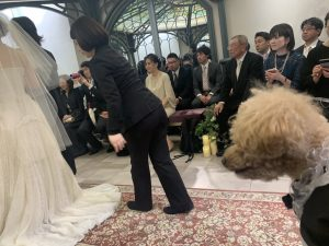 結婚式(*^^*)