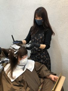 マスクつけての施術も可能です☆彡