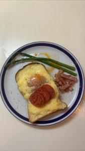 健康的な朝食〜♪
