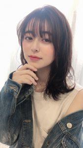 前髪のうねりに☆ポイント縮毛矯正
