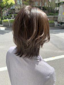 《ボブルフ×裾カラー》