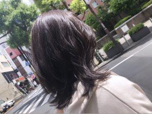 ツヤ感→夏カラーをイルミナでチェンジ♪**