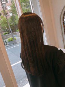 毛先の整えとトリートメントで髪をサラサラ(*^^*)