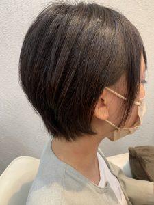 扱いやすいショートヘア